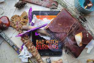 Bad Witch Burning Cover Reveal!