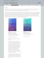 """Books"" Linn Coldiron 2020 design"