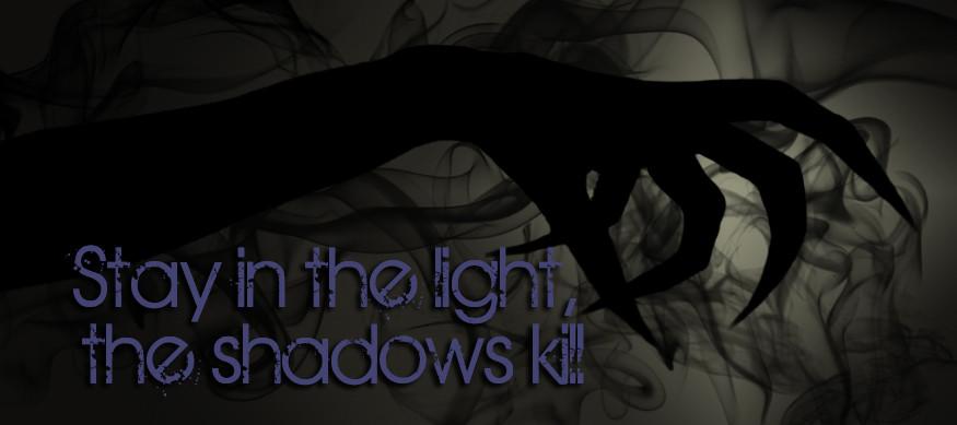 darklaw hand tagline banner