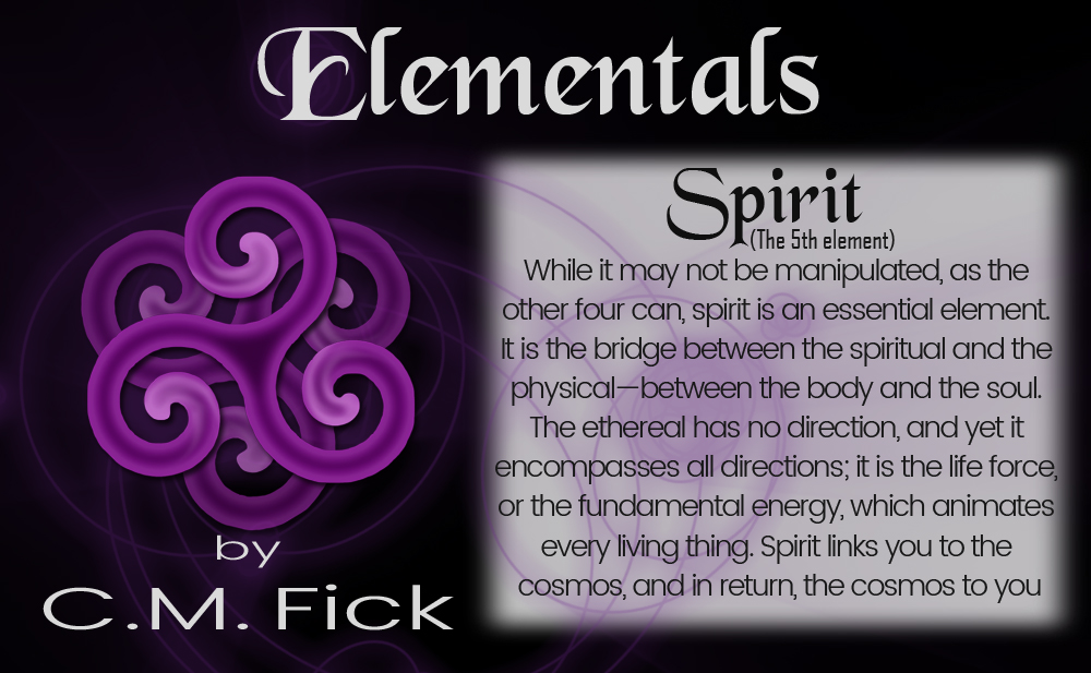 Elements pin sheet spirit
