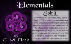 Elements pin sheet spirit
