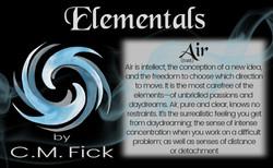 Elements pin sheet air
