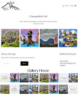 """Art Gallery"" ReflectiveSummit 2020 design"