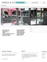 """Contact"" Misha&Co jeweler 2014 design"