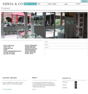 Misha & Co Jeweler 2014 design