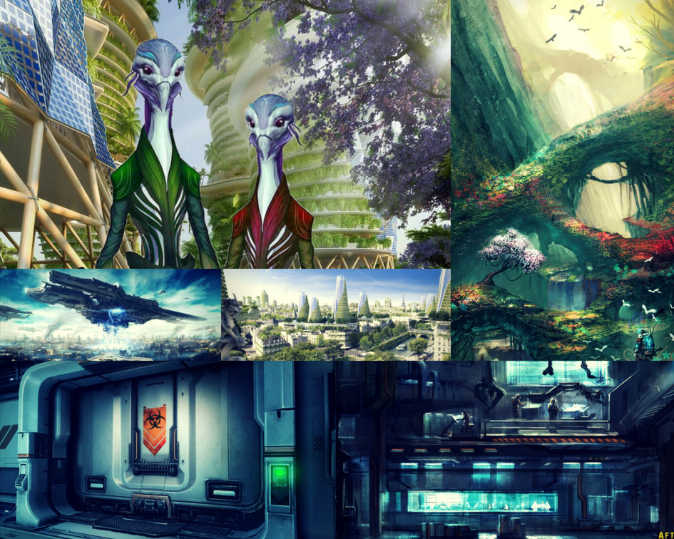 Vistyrria World Aesthetic by C.M. Fick