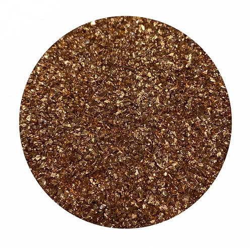 Rose Gold Glass Glitter Colour Passion