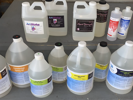 So many resins! Here is some info to help learn which options may be more suited to a project.