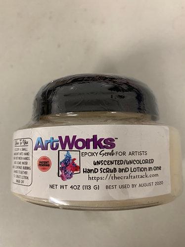 ArtWorks Epoxy Scrub, 4oz, Unscented