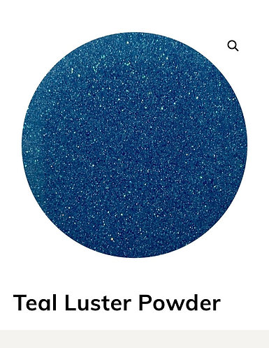 Teal Luster Pigment Powder by Colour Passion