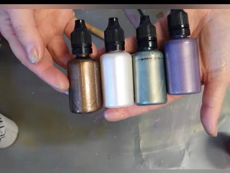 Customized Colour Paint Pens DIY, by Suzana Dancks of Le'Rez Expressions