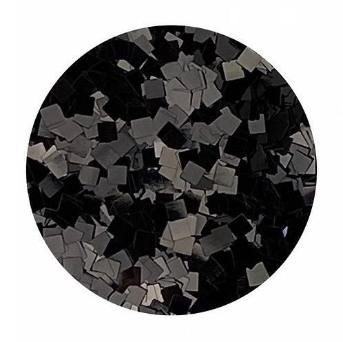 Black Night Glitter Squares Colour Passion