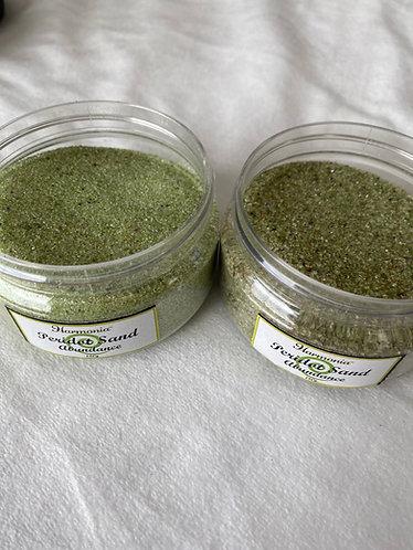 Peridot Sand, 180g jar (Abundance)