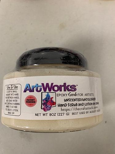 ArtWorks Epoxy Scrub, 8oz, Unscented