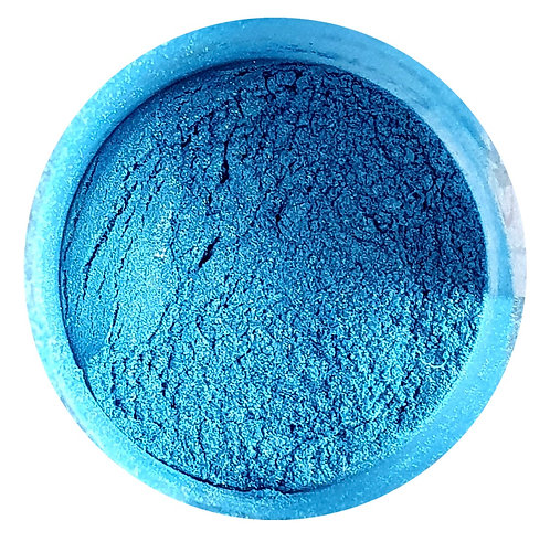 Blue Gold Pearlescent Powder 2 tone, 50ml Le'Rez