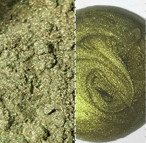 Golden Sage Pearlescent Pigment Powder ST 50ml Le Rez