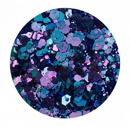 Mermaid Dreams Colour Change glitter Colour Passion