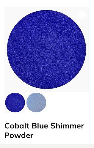 Cobalt Blue Shimmer Powder, Colour Passion
