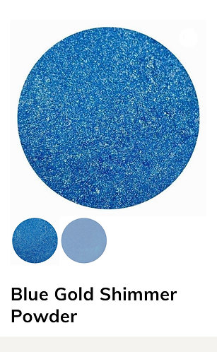 Blue Gold Shimmer Powder, Colour Passion