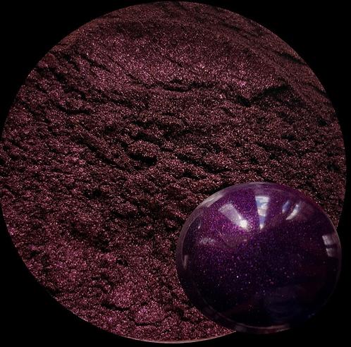 Deep Purple Pearlescent Pigment Powder 50ml Le Rez