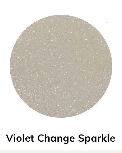 Violet Change Sparkle Powder, 40gm Colour Passion