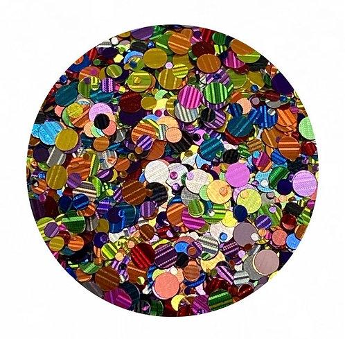 Confetti Glitter Chunky Mix Colour Passion