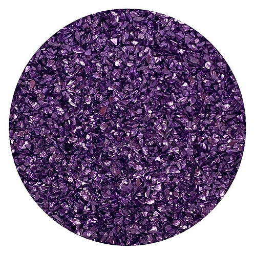 Ritzy Grape Glass Glitter, Colour Passion