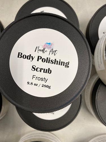 Body Polishing Scrub, Frosty, Noodle Art, 9.8oz/280g