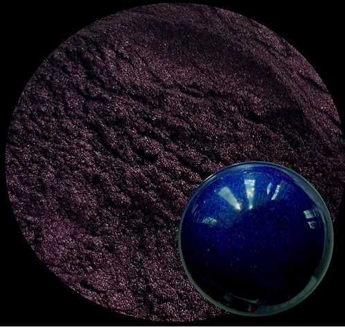 Indigo (Purple) Pearlescent Pigment Powder 50ml Le Rez