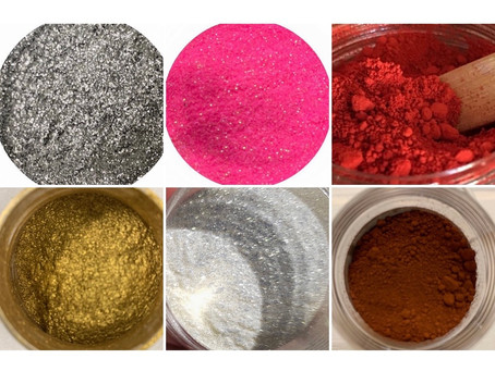 Resin Pigment Powder & Mica Powder & Mixes of Both (explanation of differences)