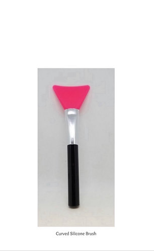 Curved Silicone Brush
