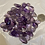 Thumbnail: Amethyst, Tumbled, apx 5oz , richer purple