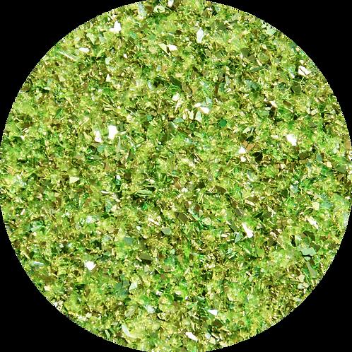 Green Pear Glitter Glass,  1oz (28gm) ARC