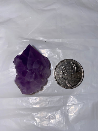 Amethyst Flower Cluster, Natural Raw, 20gm