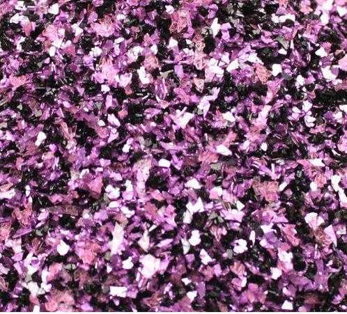 Lilac Dark Fusion 70grit Glitter Glass, 1oz jar