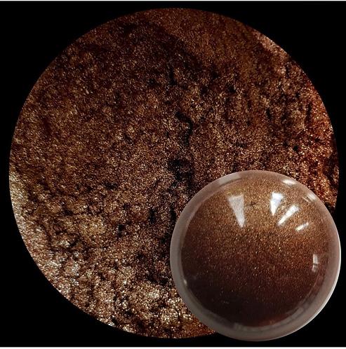 Chocolate Gold Metal Luster Powder 25gm Le'Rez