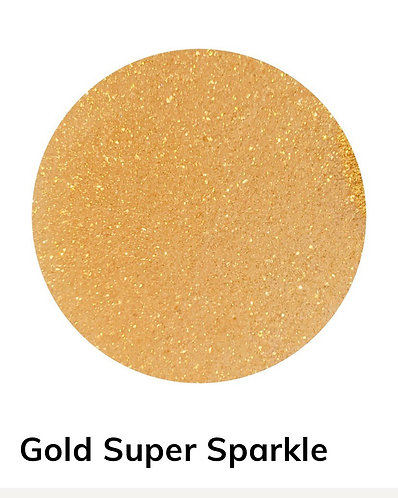 Gold Super Sparkle Powder, 40g Colour Passion