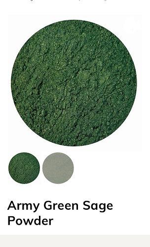 Army Green Sage Powder, Colour Passion