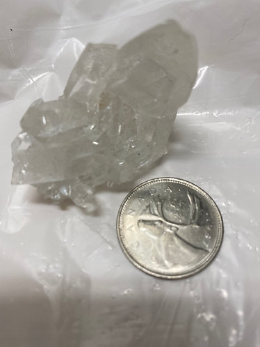 Genuine Crystal Quartz Cluster