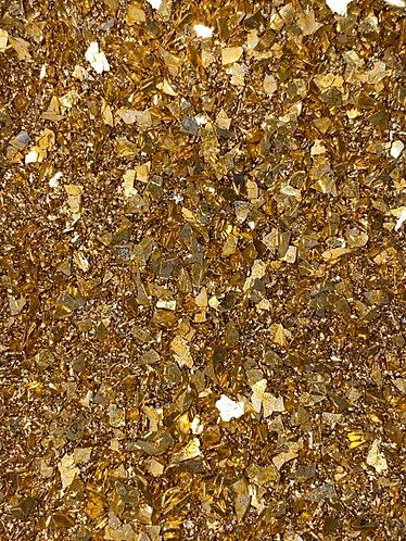 Gold Mixed Blend German Glass Glitter, 1oz