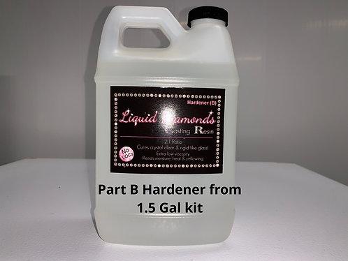 Liquid Diamonds Part B Hardener from 1.5 Gal Kit