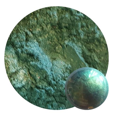 Dusty Teal 2 Tone Mica Pigment Powder ST 50ml Le Rez