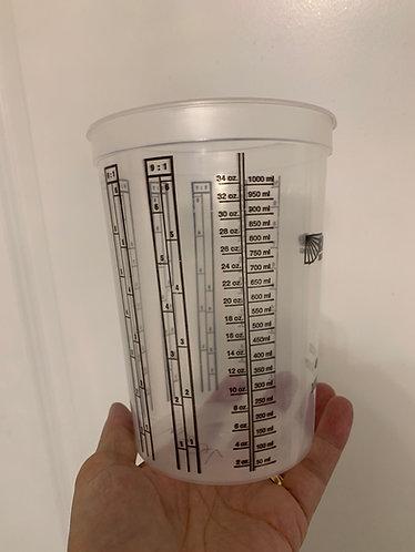 Mixing Cup 40oz (34oz 1000ml)