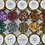 Thumbnail: Dusty Rose Metallic Foil Flakes, Colour Passion