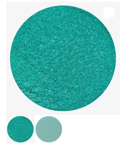 Green Luster Powder, Colour Passion more green then showing
