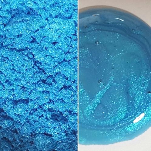Adriatic Blue Pearlescent 2 Tone Pigment Powder T 50ml Le Rez