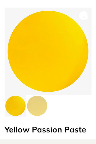 Yellow Passion Pigment Paste, Colour Passion