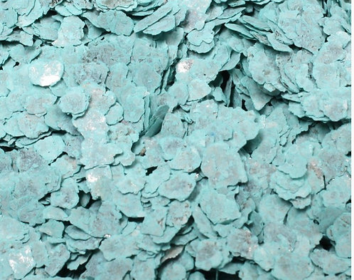Ice Blue Natural Mica Flakes, 1/4oz