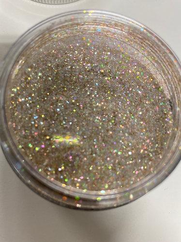 Lilac Gold Iridescent Ultra Fine Glitter Dust 20g