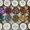 Thumbnail: Silver Metallic Foil Flakes, Colour Passion